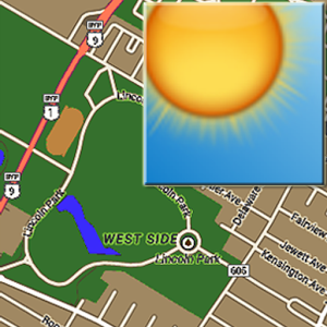 Weather Map (Google Map)