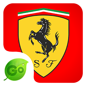 Go Keyboard Ferrari Theme