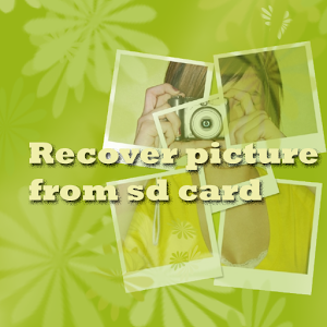 Recover Picture from SD card