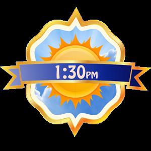 Clock + Weather Widget