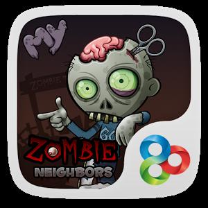 Zombie GO Launcher Theme makhluk theme zombie