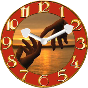 You And Me Clock Widget