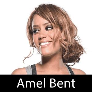 Amel Bent yummy mummy bent over