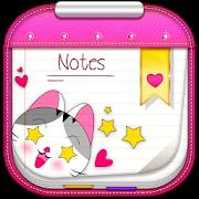 My Secret Cute Sticky Notes - Remind App