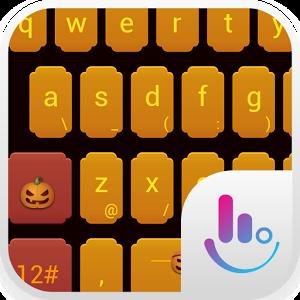 Jack-O-Lanterns Keyboard Theme