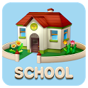 School GO Launcher Theme loans school theme