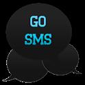 GO SMS THEME|IntenseTurquoise