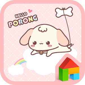 helloporong(pink) dodol theme