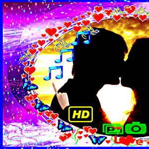 Love Frames Hearts