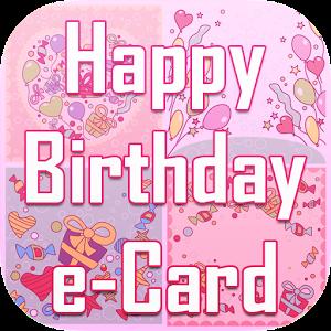 Happy Birthday e-Card Sticker comic happy sticker