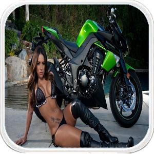 Motobike racing - city moto