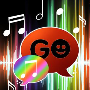 GO SMS Pro Theme 4 music Buy music theme wallpaper