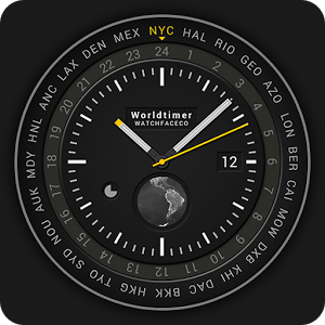 World Timer Watch Face