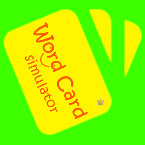 WordCard Simulator