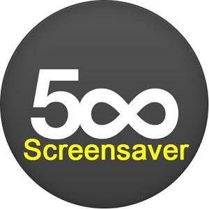 500px Screensaver 3d screensaver
