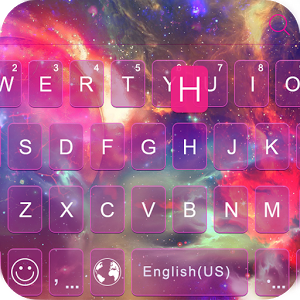Galaxy emoji ikeyboard theme