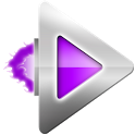 Rocket Player Purple Theme