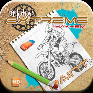 Motor Extreme Mayhem Paint bike extreme motor