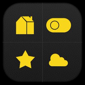 Dark Yellow Toucher Pro Theme
