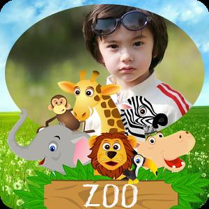 zoo photo frame