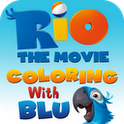 Rio: Coloring with Blu