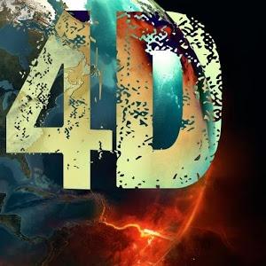 Keep Calm 4D Abstract