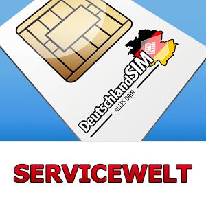DeutschlandSIM Servicewelt