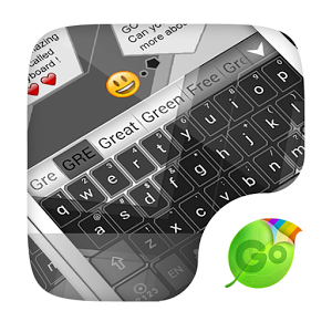 Grey GO Keyboard Theme