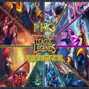 Pro League of Legends Counter