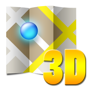 3D map France france