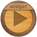 PowerAmp Wood Widget