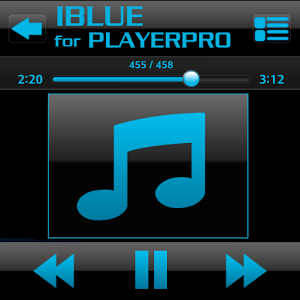PlayerPro Skin I BLUE cool playerpro skin