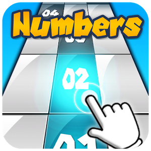 Numbers : Tap The Black Tile