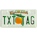 TXT TAG - For License Plates