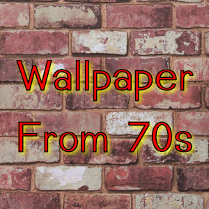 Wallpaper from the 70s wallpaper