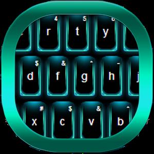 Keyboard Neon Color