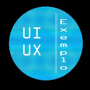 Exemplo de UI UX