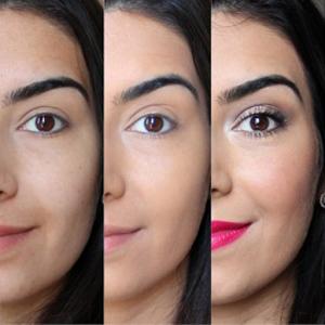 Makeup Before After makeup