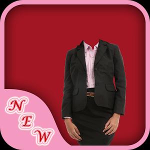 Business Woman Photo Suit