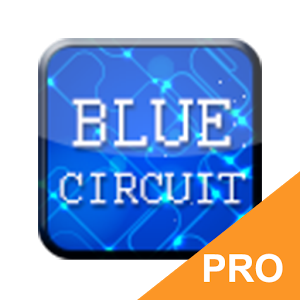 GO Keyboard Blue Circuit PRO
