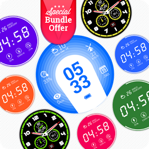 Gleamy Glow Watch Face Bundle