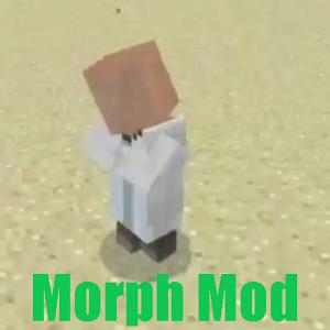 Morph Mod MineCraft PE morph voice morph