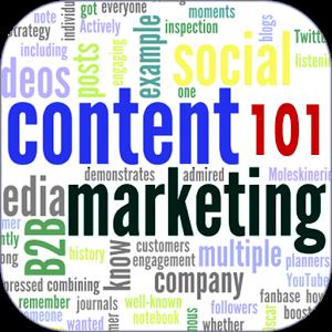 Content Marketing 101 content idea music