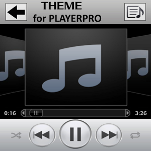 SKIN PLAYERPRO IMUSIC cool playerpro skin