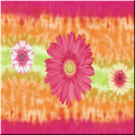 Tye-Dye Flower GO THEME christmas flower theme