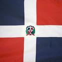 3D Dominican Republic Flag
