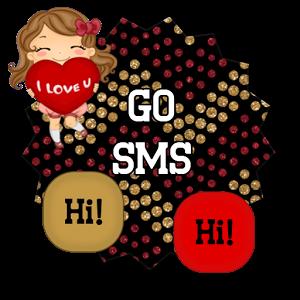 GO SMS THEME - SCS465