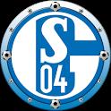 FC Schalke 04 Clock Widget