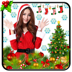 Christmas Photo Stickers christmas globes photo