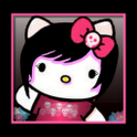 GOSMS Pro Emo Girl Hello kitty